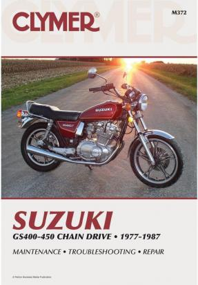 Picture of Clymer Manual - Suzuki GS400-450 Chain Drive, 1977-1987