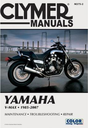Picture of Clymer Manual - Yamaha V-Max, 1985-2007