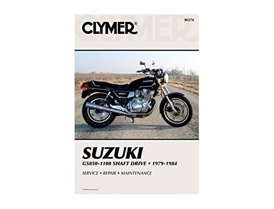 Picture of Clymer Manual - Suzuki GS850-1100 Shaft Drive, 1979-1984