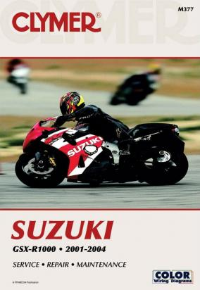 Picture of Clymer Manual - Suzuki GSX-R1000, 2001-2004