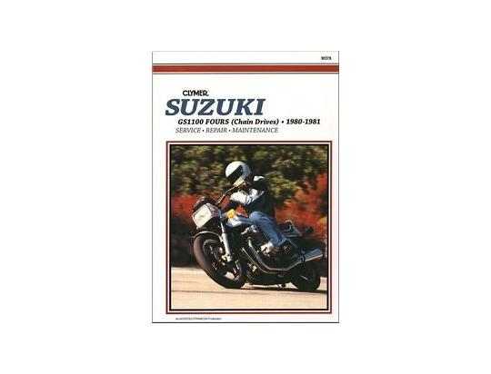 Picture of Clymer Manual - Suzuki GS & GSX1100, 1980-1981