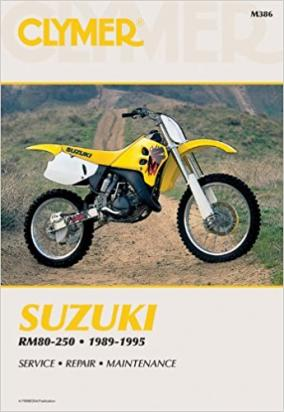 Picture of Suzuki RMX 250 P 93 Manual Clymer