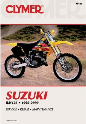 Picture of Suzuki RM 125 X 99 Manual Clymer