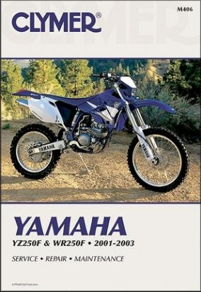 Picture of Yamaha WR 250 FS 04 Manual Clymer