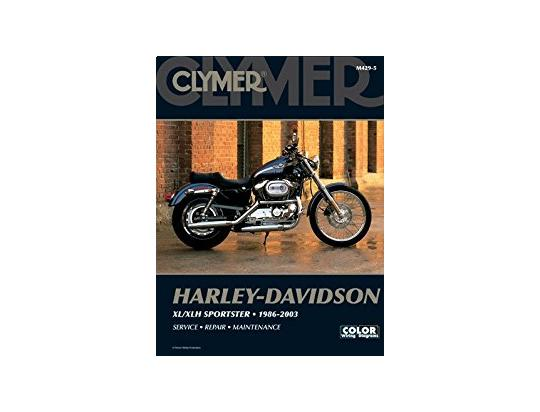 Picture of Clymer Manual - Harley-Davidson Sportster Evolution 1986-2003