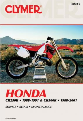 Picture of Clymer Manual - Honda CR250R & CR500R, 1988-2001
