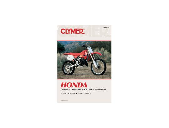 Picture of Honda CR 80 RT/RV 96-97 Manual Clymer