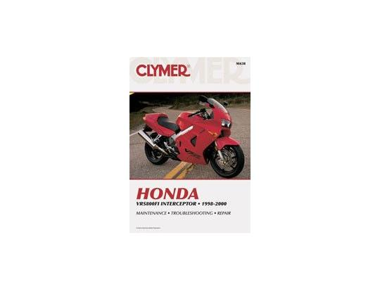 Clymer Manual - Honda VFR800FI Interceptor, 1998-2000