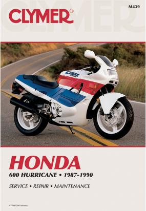 Picture of Clymer Manual - Honda 600 Hurricane, 1987-1990