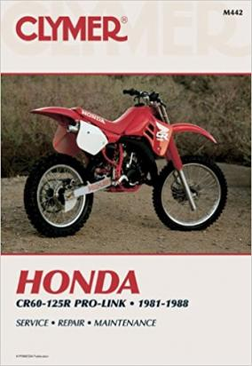 Picture of Honda CR 125 RH 87 Manual Clymer