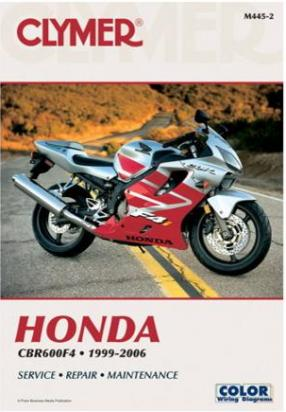 Picture of Honda CBR 600 F3 03 Manual Clymer
