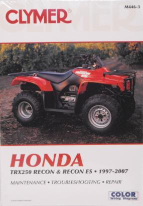 Picture of Clymer Manual - Honda TRX250 Recon & Recon ES 1997-2004
