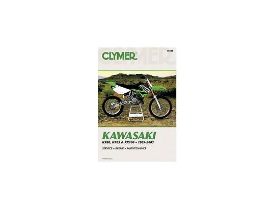 Picture of Clymer Manual - Kawasaki KX80, KX85 & KX100, 1989-2003