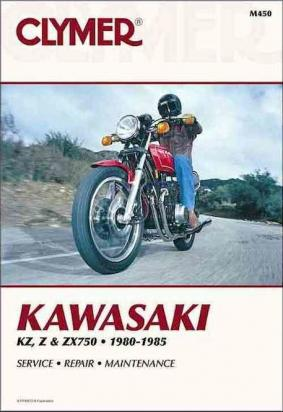 Picture of Clymer Manual - Kawasaki KZ, Z & ZX750, 1980-1985