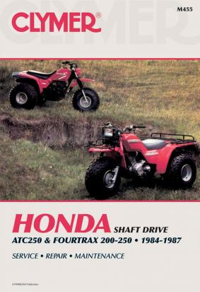 Picture of Clymer Manual - Honda ATC250 & Fourtrax 200/250, 1984-1987