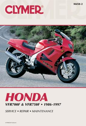 Picture of Clymer Manual - Honda VFR700F & VFR750F, 1986-1997