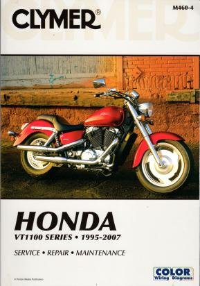 Picture of Clymer Manual - Honda VT1100 1995-2007