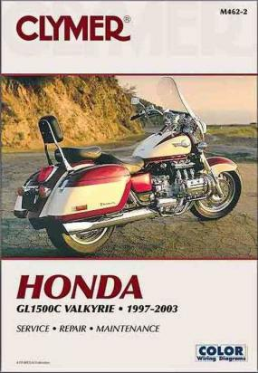 Picture of Clymer Manual - Honda GL1500CT Valkyrie, 1997-2003