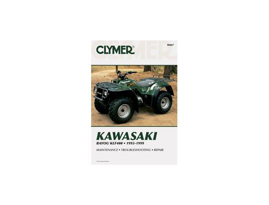 Picture of Kawasaki KLF 400 B1-B7 Bayou 93-99 Manual Clymer