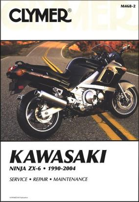 Picture of Kawasaki ZZR 600 (ZX 600 E11) 03 Manual Clymer