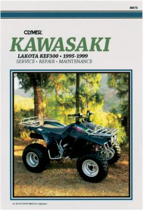 Clymer Manual - Kawasaki Lakota KEF300, 1995-1999