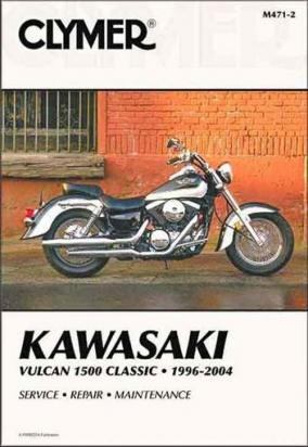 Picture of Clymer Manual - Kawasaki Vulcan 1500 Classic, 1996-2004