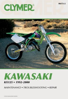 Picture of Kawasaki KX 125 K3 96 Manual Clymer
