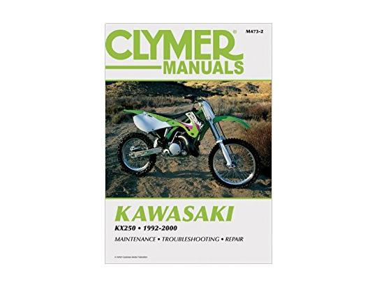 Clymer Manual - Kawasaki KX250, 1992-2000