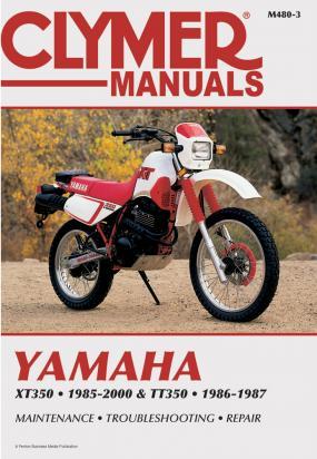 Picture of Clymer Manual - Yamaha XT350 & TT350, 1985-2000