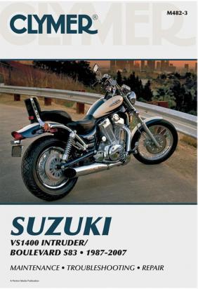 Picture of Clymer Manual - Suzuki VS1400 Intruder, 1987-2007