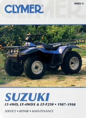 Picture of Clymer Manual - Suzuki LT-4WD, LT-4WDX & LT-F250, 1987-1998
