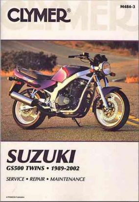 Picture of Clymer Manual - Suzuki GS500 Twins, 1989-2002