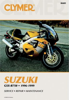 Picture of Clymer Manual - Suzuki GSX-R750, 1996-1999