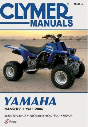 Picture of Yamaha YFZ 350 M/N/P/R/S/T Banshee 00-05 Manual Clymer