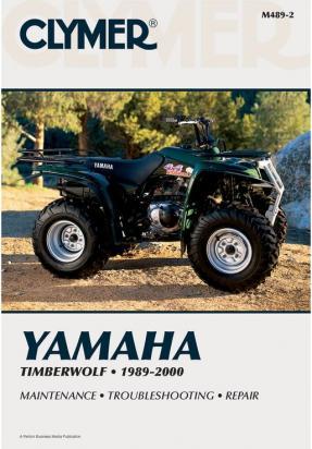 Picture of Clymer Manual - Yamaha Timberwolf, 1989-2000