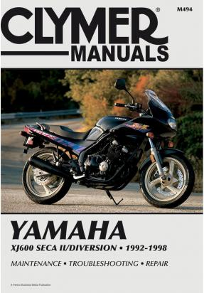 Picture of Clymer Manual - Yamaha XJ600 Seca II/Diversion, 1992-1998
