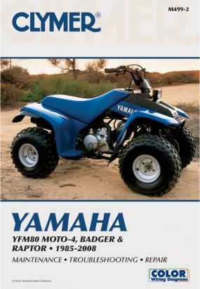 Picture of Clymer Manual - Yamaha YFM80 Moto-4 & YFM80 Badger, 1985-2008