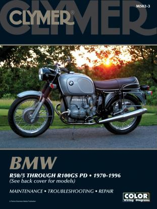 Picture of Clymer Manual - BMW R50/5 through R100GS PD, 1970-1996