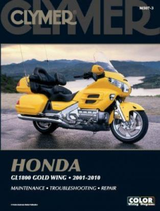 Picture of Clymer Manual - Honda GL1800 Gold Wing, 2001-2010