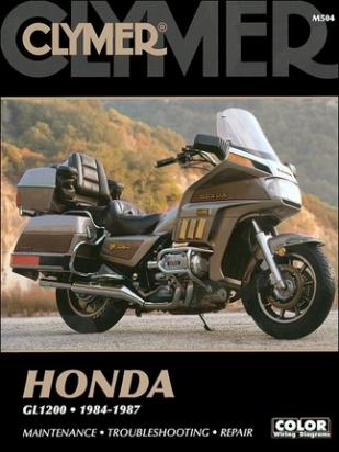 Picture of Clymer Manual - Honda GL1200 Gold Wing, 1984-1987