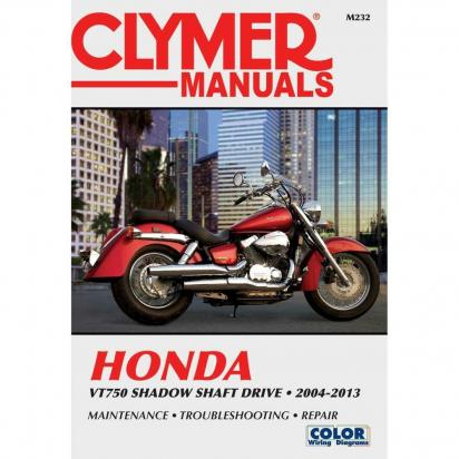 Clymer Manual - Honda VT750C Series 2004-2013