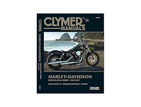 Picture of Clymer Manual - Harley Davidson FXD/FLD Dyna Series 2012-2017