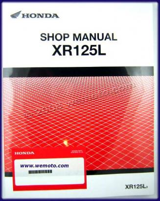 Picture of Genuine Workshop Manual - Honda XR125L-3