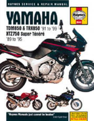 Picture of Yamaha TRX 850 96 Manual Haynes