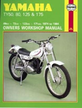 Picture of Haynes Manual - Yamaha TY50/80/125/175