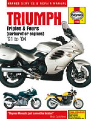 Picture of Haynes Manual - Triumph Triples & Fours (carburettor engines)