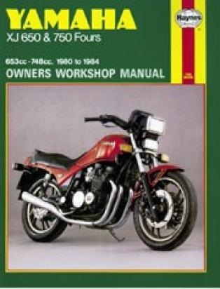 Picture of Haynes Manual - Yamaha XJ650/750 1980-84