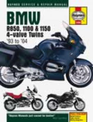 Picture of Haynes Manual - BMW R850, 1100 & 1150 4-valve Twins (93 - 04)