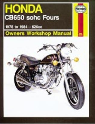 Picture of Haynes Manual - Honda CB650 1978-84