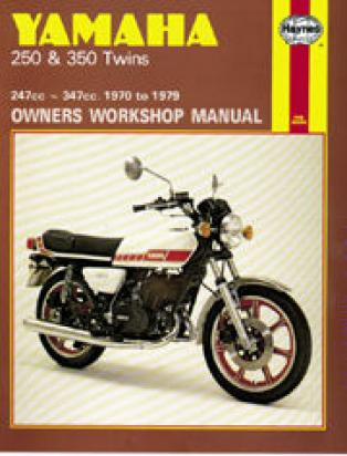 Picture of Haynes Manual - Yamaha RD250 RD350